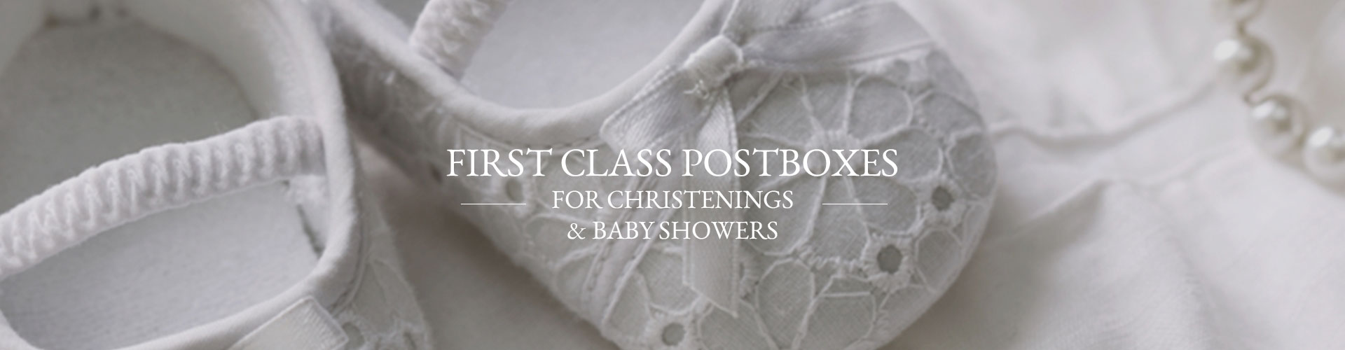 First Class Postboxes for Christenings and Baby Showers